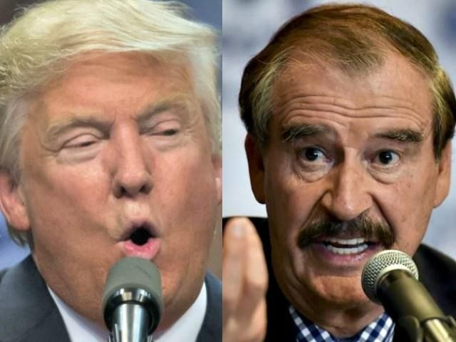 Vicente Fox to Trump on Twitter: 'Are You a Legitimate President?'