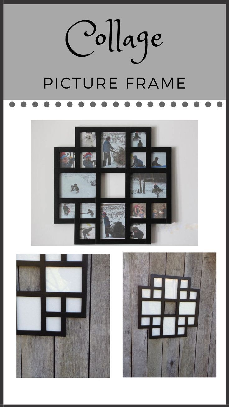 $70 - $80 Collage Picture Frame, Multiple Pictures Frame, Multi Picture Frame, Multi Photo Frame, Collage Photo Frame, #picturfFrame #collage #homedecor #gallerywall #ad