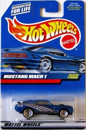 Hot Wheels 1999 1:64 Scale Blue 1970 Ford Mustang Mach 1 Diecast Car Collector #1105 by Mattel. $0.51. Mattel Hot Wheels 1999 1:64 Scale Blue Ford Mustang Mach 1 Die Cast Car Collector #1105
