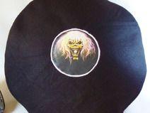 Schallplatte Iron Maiden Dekokissen Vinyl Style