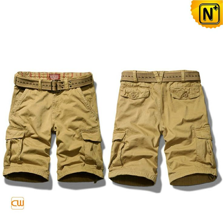 Khaki Summer Cargo Shorts for Men CW140173 Summer is just around the corner and we need those khaki summer shorts for men for the beach, sport, gym and all others, our comfortable breathable 100% cotton fabric men's khaki cargo shorts are rugged and stay cool.