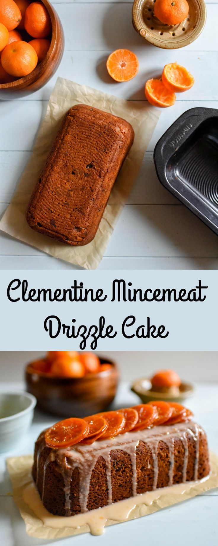 Clementine & Mincemeat Drizzle Cake - Patisserie Makes Perfect
