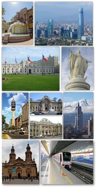 Santiago,Chile - ✈ The World is Yours ✈