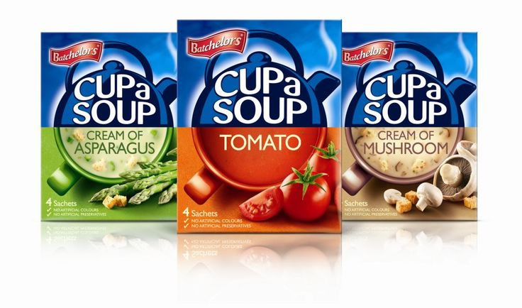 1HQ Creates a Stir With New Batchelors Cup A Soup Rebrand
