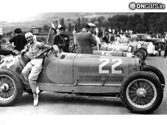Helle Nice Early Woman Race Car Driver From France Raced For