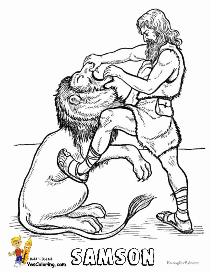 25 best Bible: Samson images on Pinterest | Bible lessons, Sunday ...