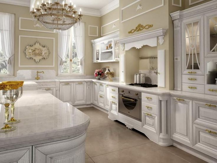 17 best ideas about classic kitchen cabinets on pinterest for Classic modern kitchen designs