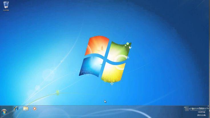 2.1. Mit látunk, amikor elindítjuk a számítógépet és elindul a Windows