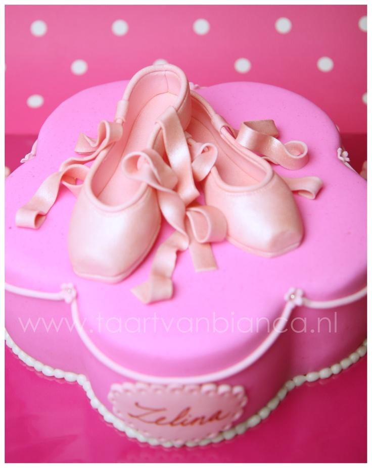 Ballerina cake by taart van Bianca