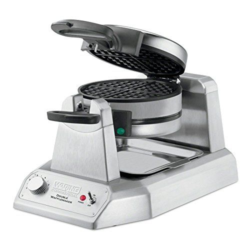 Waring WWD200  50 WafflesHr Double Verticle Traditional Waffle Maker *** You can find out more details at the link of the image.