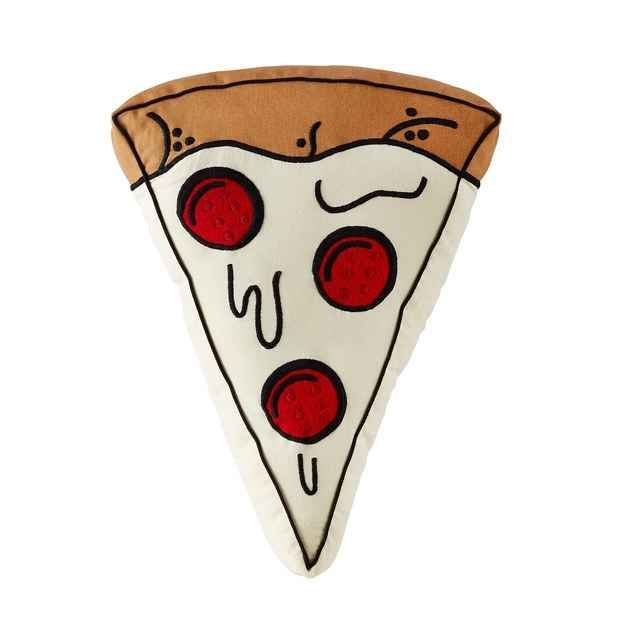 A giant, huggable slice of pizza.