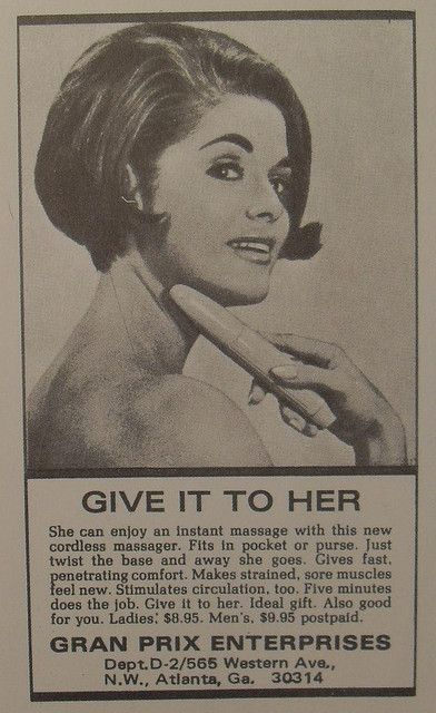 Vintage ad. Love it.