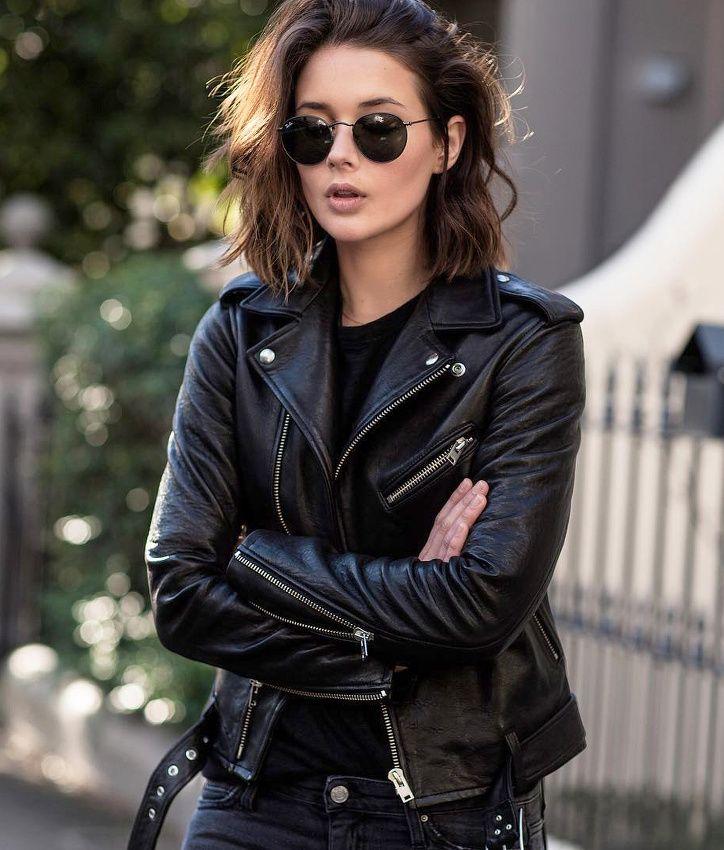 Les Brèves - Tendances de Mode #perfecto #looknoir                                                                                                                                                                                 Plus