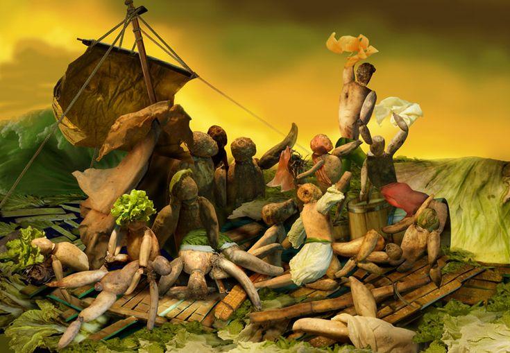 théodore géricault bateau | Le Radeau de la Méduse, portrait d'un chef-d'œuvre
