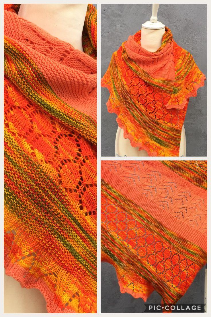 BeSoGood shawl pattern by HELLE SLENTE DESIGN | knit by Norwegian Monica S. Vaule