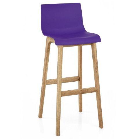 Drift Oak u0026 Purple Bar Stool  sc 1 st  Pinterest & Best 25+ Purple bar stools ideas on Pinterest | Purple dining ... islam-shia.org