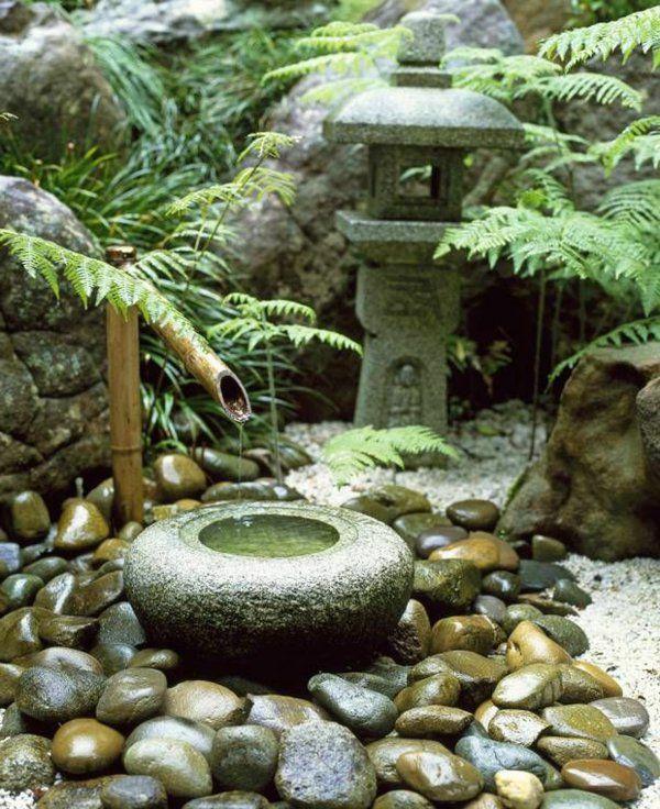 Les 25 meilleures id es de la cat gorie fontaine bambou for Fontaine interieur bambou