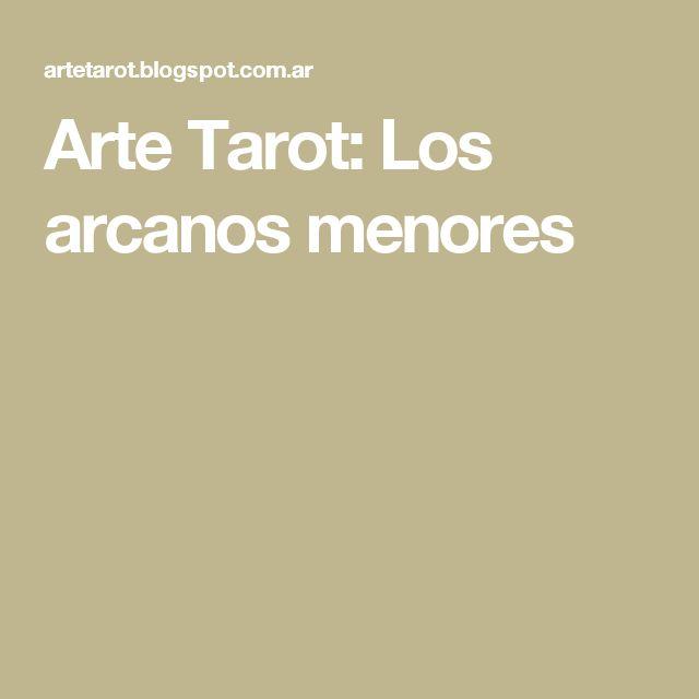 Arte Tarot: Los arcanos menores