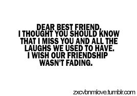 Image result for sad best friend quotes