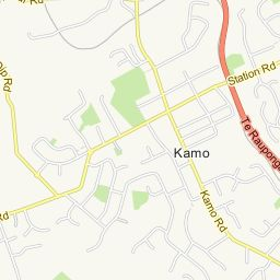 Kamo, Whangarei, Northland, Amenities - AA Maps - New Zealand Maps, Addresses, Businesses, Driving Directions