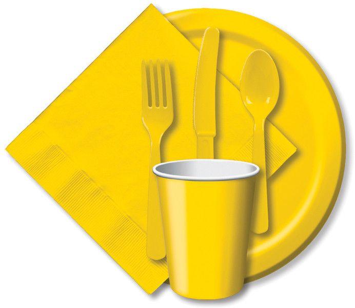 paper dinner plates 9  24/pkg-school bus yellow  sc 1 st  Pinterest & paper dinner plates 9