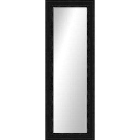 Hallway side of Bathroom Door $39.97 Montebello Black Full Length Mirror