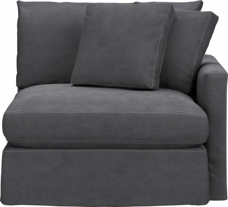 Slipcover Only For Lounge Right Arm Sectional Chair | Crate And Barrel $424