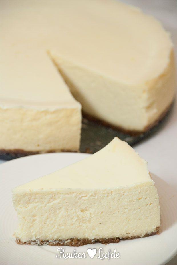 New York cheesecake - Keuken♥Liefde