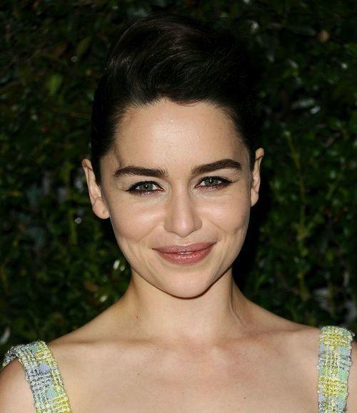 Emilia Clarke aka Ana Steele