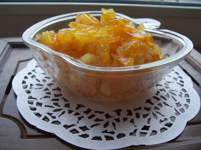 Цукаты из лимонно-апельсиновых корочек
