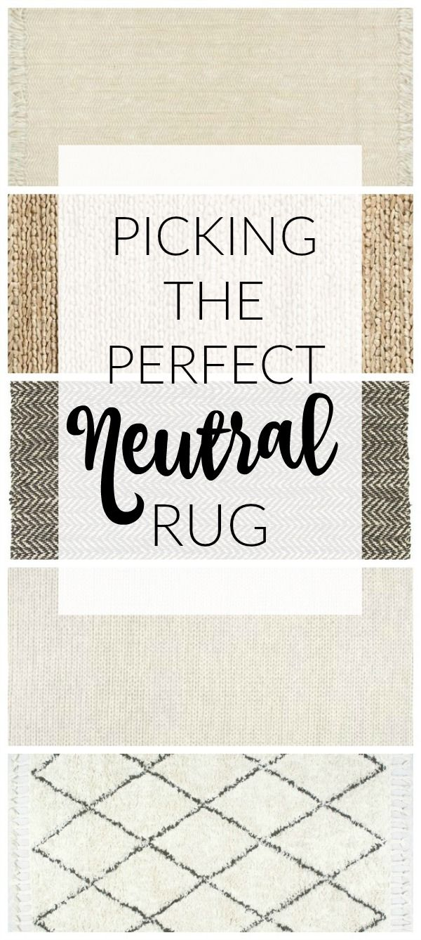 AFFORDABLE neutral rugs perfect for any space! - Littlehouseoffour.com