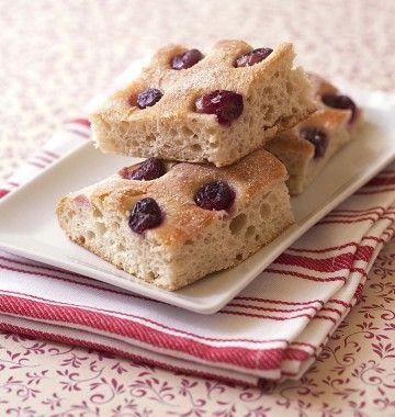 Photo de la recette : Schiacciata con l'uva - focaccia sucrée aux raisins