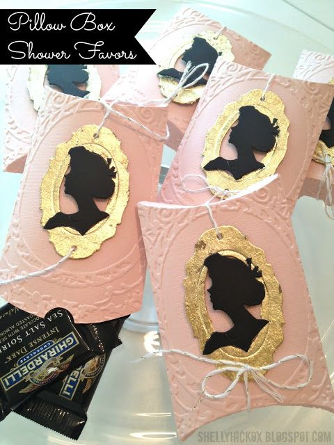 These would be lovely favors for a Jane Austen Tea Party!