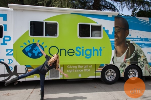 #Actress Ellen Hollman #ditlo photography by Peter Wintersteller #charity #mobile #onesight Visual Impact Now!