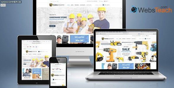 Download 456Industry v1.0.2 – Themeforest eCommerce WordPress Theme Free Download | Webs Teach