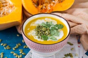 Тыквенный суп-пюре - классические рецепты с фото. Как приготовить суп-пюре из тыквы для ребенка