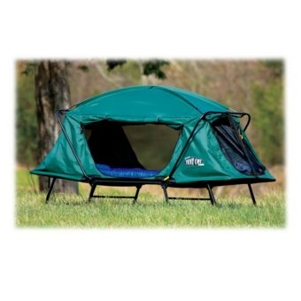 Kamp Rite Oversized Tent Cot With Rain Fly Get Outdoors