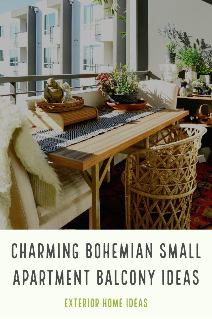 Charming Bohemian Small Apartment Balcony Ideas You Need To See Small Apartment Balcony Ideas Small Apartments Apartment