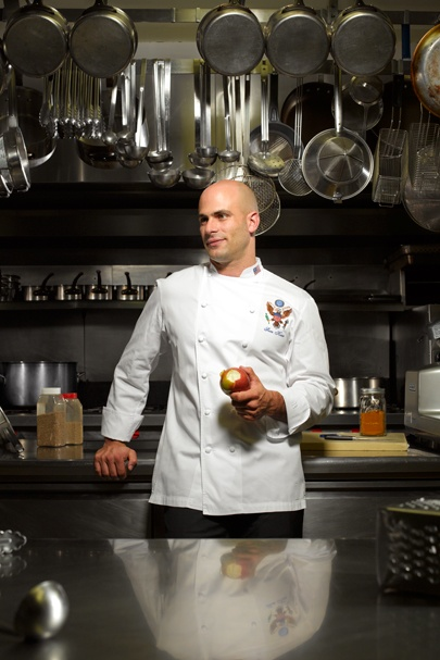 Sam kass white house chef wish they 39 d come to my for Chef comes to your house