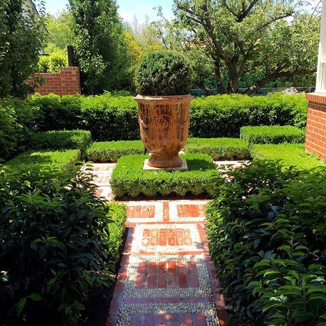 Formal Garden Design Idea: 17+ Images About Formal Landscaping Ideas On Pinterest