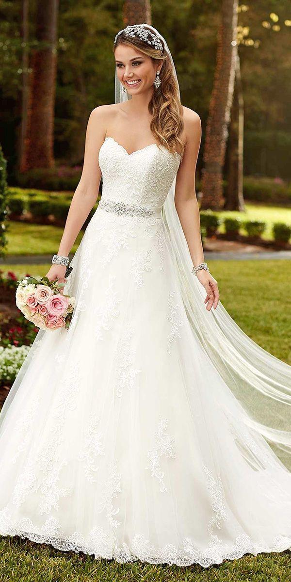36 gorgeous a line wedding dresses
