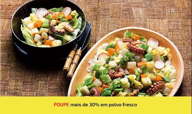 Este polvo cozido com legumes é um excelente prato para os apreciadores de polvo. Acompanhe com batatas, nabos, cenouras e feijão-verde.