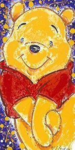 Winnie the Pooh - XOXO - David Willardson - World-Wide-Art.com - #davidwillardson #disney