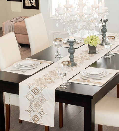 M s de 20 ideas incre bles sobre caminos de mesa en for Camino mesa moderno