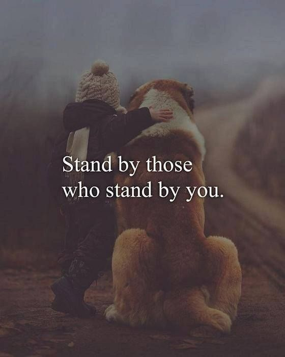 Nobody Stand With Me Mine Thoughts Friendship Quotes Positive