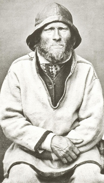 A Sea Saami Man, Ivar Samuelsen, Norway, 1884 by Bonaparte Maybe this is my great-grandfather