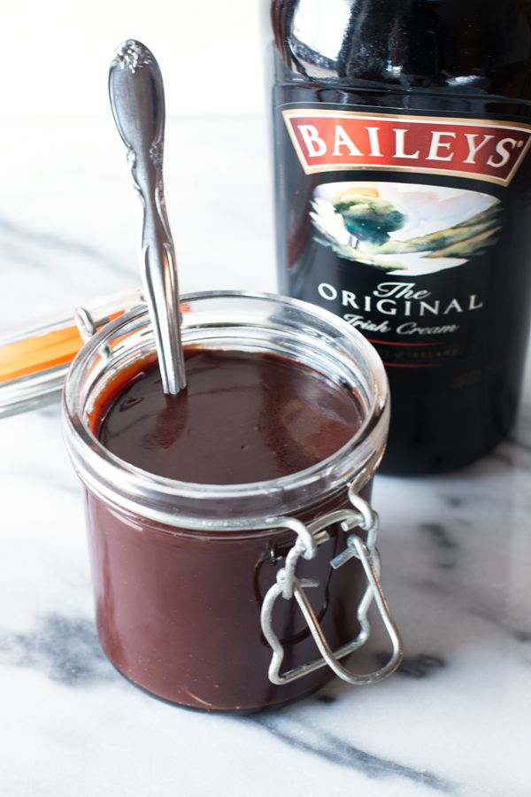 Your ice cream sundae will be the best you've ever tasted with this Bailey's Hot Fudge Sauce.