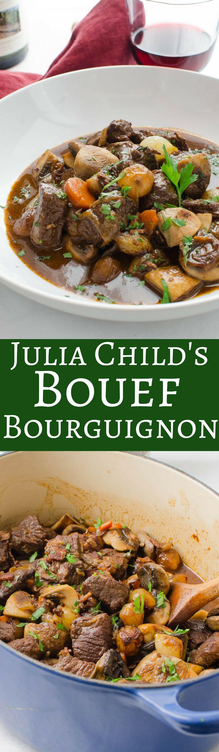 Julia Child's Boeuf Bourguignon