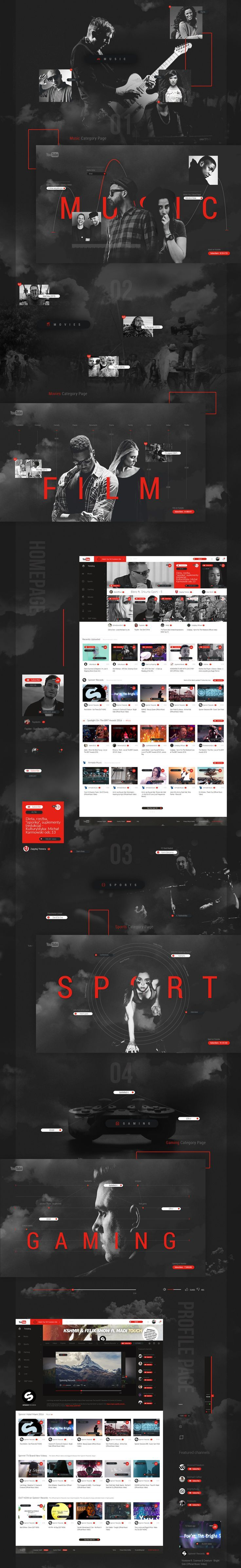 This is my personal Youtube Redesign Concept. This design wins Gold Muse Award od Muse Creative Awards 2016.. If you're a user experience professional, listen to The UX Blog Podcast on iTunes.