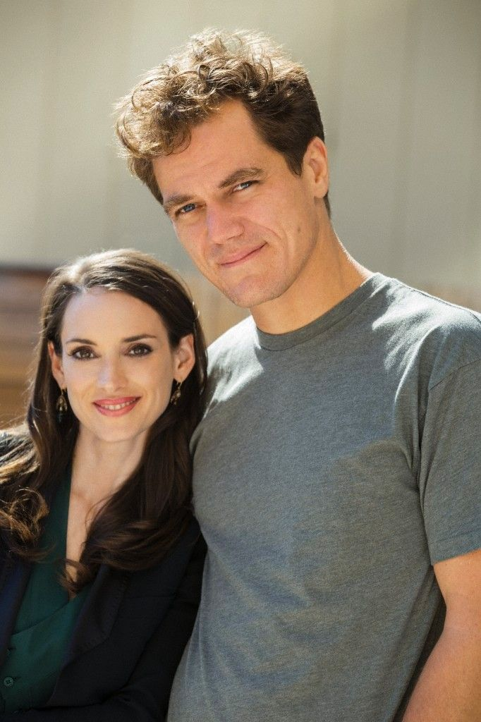 Winona and ICEMAN husband Michael Shannon. Funny---first ...